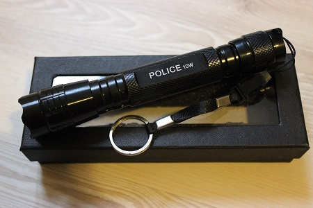 Hliníkové policajné baterky