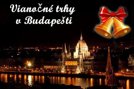Vianočné trhy v Budapešti s prehliadkou mesta alebo vstupom do Tropikaria