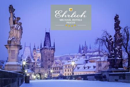 Praha v hoteli Ehrlich**** na 3 dni pre 2 osoby s raňajkami