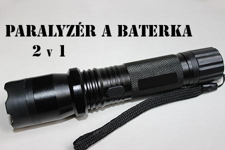 Policajná baterka s paralyzérom