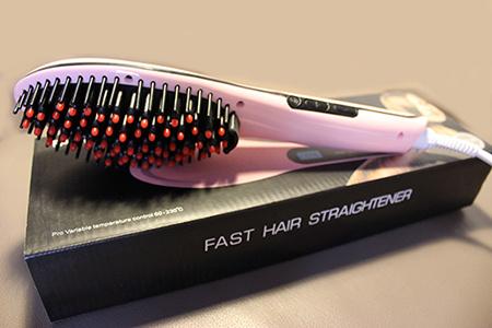 Vyrovnávacia elektrická kefa na vlasy