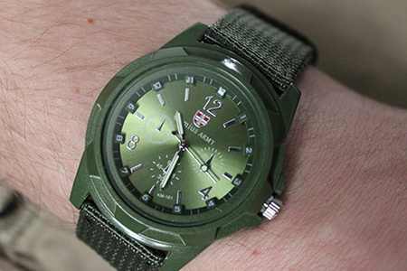 Pánske vojenské hodinky