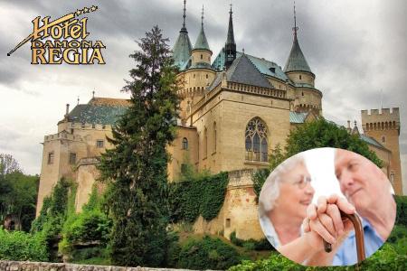 Pobyt pre dôchodcov na 6 dní s polpenziou v Bojniciach