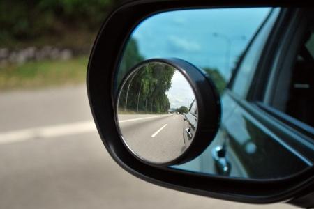 Širokouhlé spätné zrkadlá