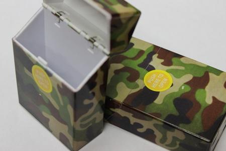 Štýlová vojenská tabatierka